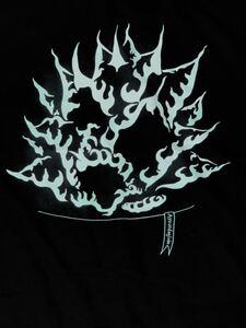 ブラック蓄光チタノタ 半袖Tシャツ XLサイズ アガベ agave シエラミクスティカ 白鯨 オテロイ aroundaglobe 多肉植物 オススメ