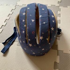 AMBLY 赤ちゃんベビーヘルメット 転倒 けが防止 通気性 全方向頭を守る サイズ調整可能 洗える2重クッション