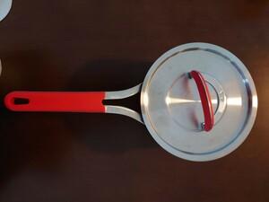 フィスラー Fissler 片手鍋 レッドハンドル18cm