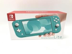 備考あり Nintendo Switch Lite/ニンテンドースイッチライト ターコイズ 任天堂 ゲーム機 ※備考あり※ ☆良品☆ [296-0910-S3]