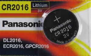 ★【即決送料無料】1個163円★ Panasonic★ CR2016 3V リチウム電池  スマートキー キーレス 使用推奨期限:2029年12月★
