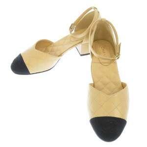 シャネル パンプス ココマーク マトラッセ ラムスキン レディースサイズ36 G36047 CHANEL 靴 2020年限定 【送料無料】