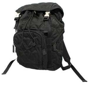プラダ バックパック ナイロン 2VZ135 PRADA バッグ ブラック 黒 【送料無料】