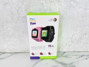 未チェック myFirstFone S2 子供向け3Gウェアラブルスマートフォン KW1302 腕時計型携帯電話/A7-3197