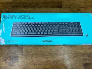 K270 Logicool ロジクール ワイヤレスキーボード unifying