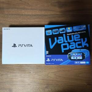 PS Vita Wi-Fiモデル PCH-2000 バリューパック 本体 美品 PlayStation Vita