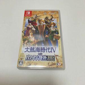 Switch 大航海時代IV with パワーアップキット HD