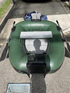 DOPPELGANGER ドッペルギャンガー バスフローターボート DFB101 マウント ラダー付きゴムボート