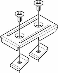 SRタイプ 分岐用 補助子桁取付金具 20個入 SD-SNQR2RF