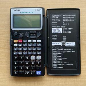 カシオ プログラム関数電卓 fx-5800P