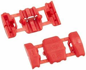配線コネクター/0.50~0.85sq/赤/8個 0.50~0.85sq エーモン 配線コネクター(赤) DC12V80W以下/