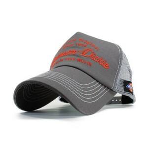 ディッキーズ Dickies Williamson メッシュキャップ グレー メンズ レディース アメカジ 野球帽 帽子 ミリタリー