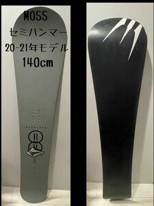 20-21 MOSS モス スノーボード 板 リボルバー ダブルアール セミハンマー