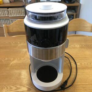 シロカ コーン式全自動コーヒーメーカー SC-C124 siroca 電動コーヒーミル