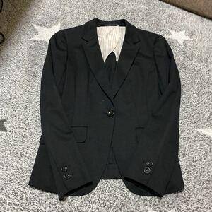 テーラードジャケット レディーススーツ パンツスーツ ブラック