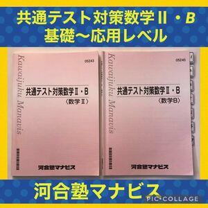 河合塾 テキスト 数学 数II 数B 問題 応用 問題集 大学 受験 入試 難関大 国公立 共通テスト 国公立大 私立大 基礎