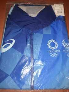 Sサイズ ジャケット 新品未使用品 東京2020オリンピック ボランティア フィールドキャスト アシックス 非売品 ウィンドブレーカー 長袖