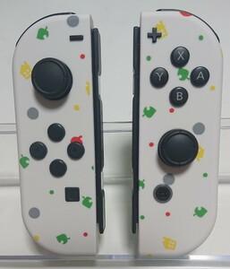 Nintendo Switch Joy-Con ジョイコン 再構成品 カスタムメイド たぬき開発ツートンカラー