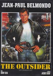 パリ警視J北米盤DVD The Outsider (Le Marginal) ジャン=ポール・ベルモンド
