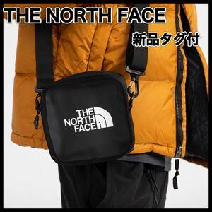 SALE!!新品タグ付◆THE NORTH FACE ザノースフェイス◆TNFロゴシンプルスクエアショルダーバッグBLACK