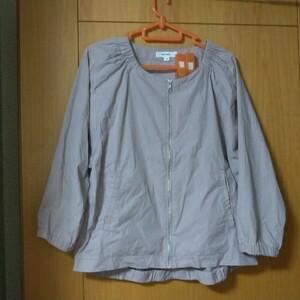 niko and…ニコアンド七分袖ジャケットサイズ4
