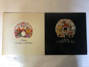 10925S 12inch LP★クイーン QUEEN 2点セット★A NIGHT AT THE OPERA/A DAY AT THE RACES★P-10075E/P-10300E