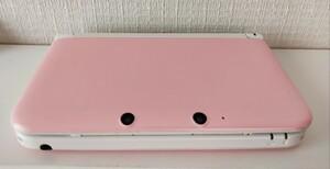 ニンテンドー3DS LL 本体 ピンク×ホワイト動作確認済 少し難あり