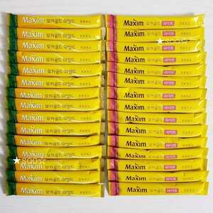 『マキシム』 韓国 maxim モカゴールドマイルド 15本 モカゴールドライト 15本 計30本 インスタント スティック コーヒー
