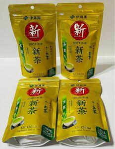 【新品未開封】伊藤園 おーいお茶 2021年 新茶 100g リーフ 4個セット