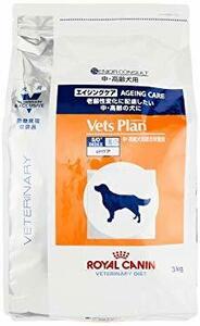 なし 単品 ベッツプラン (Vets Plan) 準療法食 犬 エイジングケア 3kg