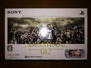 PSP-3000 本体 「プレイステーション・ポータブル」 DISSIDIA 012[duodecim] FINAL FANTASY Chaos & Cosmos Limited 新品・未使用