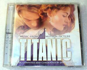 C5■国内盤 Titanic/タイタニック・映画オリジナル・サウンド・トラック/ジェイムズ・ホーナー/セリーヌ・ディオン
