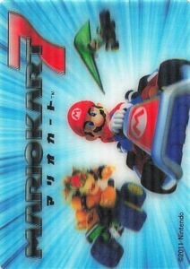 マリオカート7/スーパーマリオ3Dワールド カード マリオカート7/ピーチ なし 2011 Nintendo /2013 Nintendo T-ARTS #403