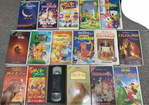 DVD VHS ディズニー まとめ売り