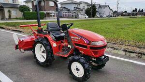 ヤンマートラクター Ke-50 富山県発 現状販売 動作確認済み 売り切れ 4WD