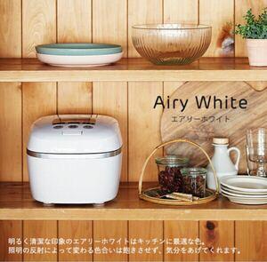 【新品未使用】タイガー魔法瓶 炊飯器 圧力IH 土鍋 JPC-G100 エアリーホワイト TIGER