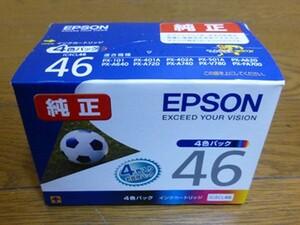 EPSON/エプソン★純正 インクカートリッジ☆IC4CL46×4色パック★未開封 ※期限切れ