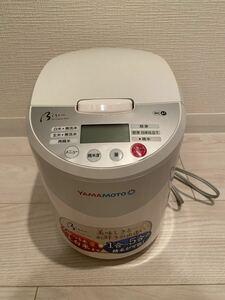 山本電気 YAMAMOTO 精米機 Bisen 美鮮 YE-RC41W ホワイト