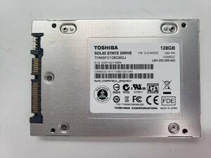 ■送料無料■【SSD128GB】 ★TOSHIBA★(管:CW-TSB-21Y6RK)■THNSFC128GBSJ■2.5インチ 6Gb/sフォーマット済み