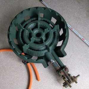 LPガス プロパンガス 鋳物コンロ ガスコンロ 業務用 業務用ガスコンロ タチバナ製作所 TS-210H