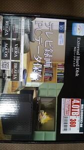 新品未開封 外付けハードディスク 4TB MAL34000EX3-BK