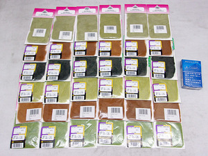 オ森d229 OFT/オフト アントロン ダビング 6色セット★各6袋 計36袋セット ■ドライフライ ダビング材に