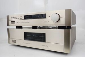 Accuphase アキュフェーズ P-11 パワーアンプ + C-11 コントロールアンプ/プリアンプ セット ∴ 6284D-3