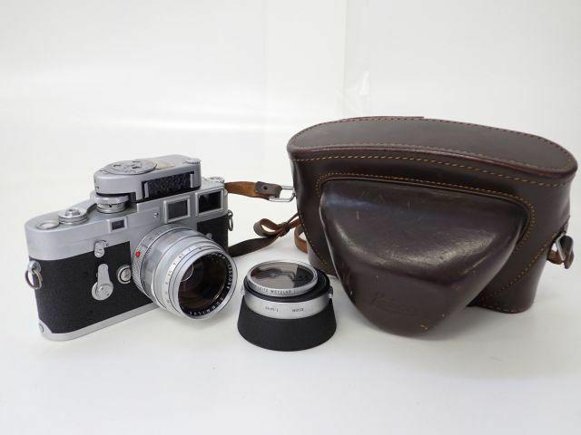 Leica ライカ M3 後期型 METER MC付 + SUMMILUX 50mm F1.4 ズミルックス 第1世代 前期型 XOOIM付 レンジファインダーカメラ £ 6293A-1
