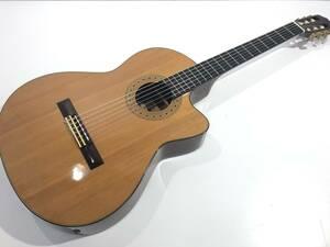 中古品 K.yairri CE-3 エレガット 国産 クラシックギター 動作確認済み ハードケース付き