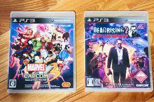 PS3ソフト マーベルvsカプコン3・デッドライジング2オフザレコード