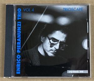 【CD】ENRICO PIERANUNZI/vol.4 TRIOSCAPE《輸入盤》エンリコ ピエラヌンツィ《1995年 ピアノトリオ》