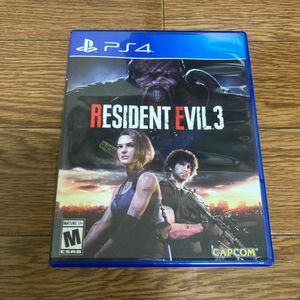 PS4 北米版 バイオハザードre3 resident evil3