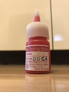 DUCATI RED ドゥカティ レッド クリヤーセット 補修用塗料  タッチペン タッチアップ 1199 1299