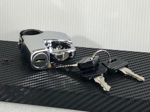 ★送料一律★ 汎用 ヘルメットホルダー スペアキー 3本付き 検 ロック セキュリティー 鍵 錠 メット フック 0 1 2 3 4 5 6 7 8 9 10